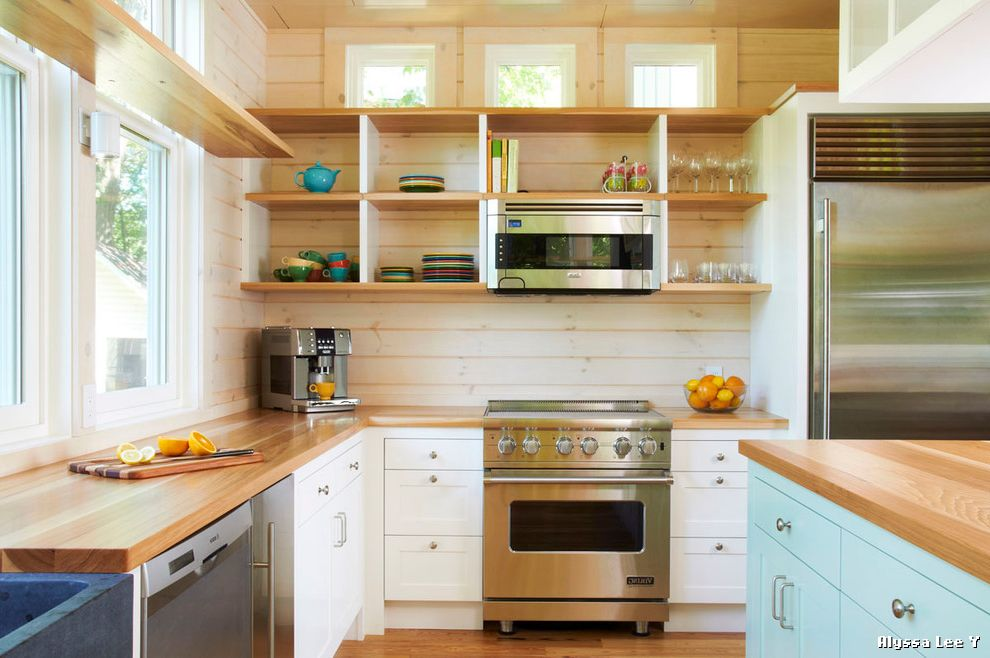 Kitchens with Clerestory Windows  for Modern Kitchen and Kitchen Shelves