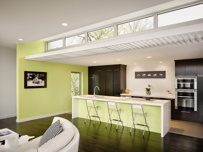 Kitchens with Clerestory Windows  for Modern Kitchen and Modern