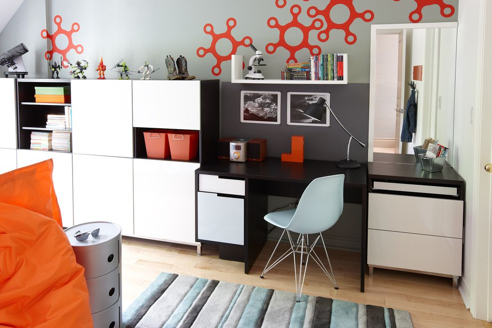 Modern Besta  for Contemporary Kids and Open Shelves