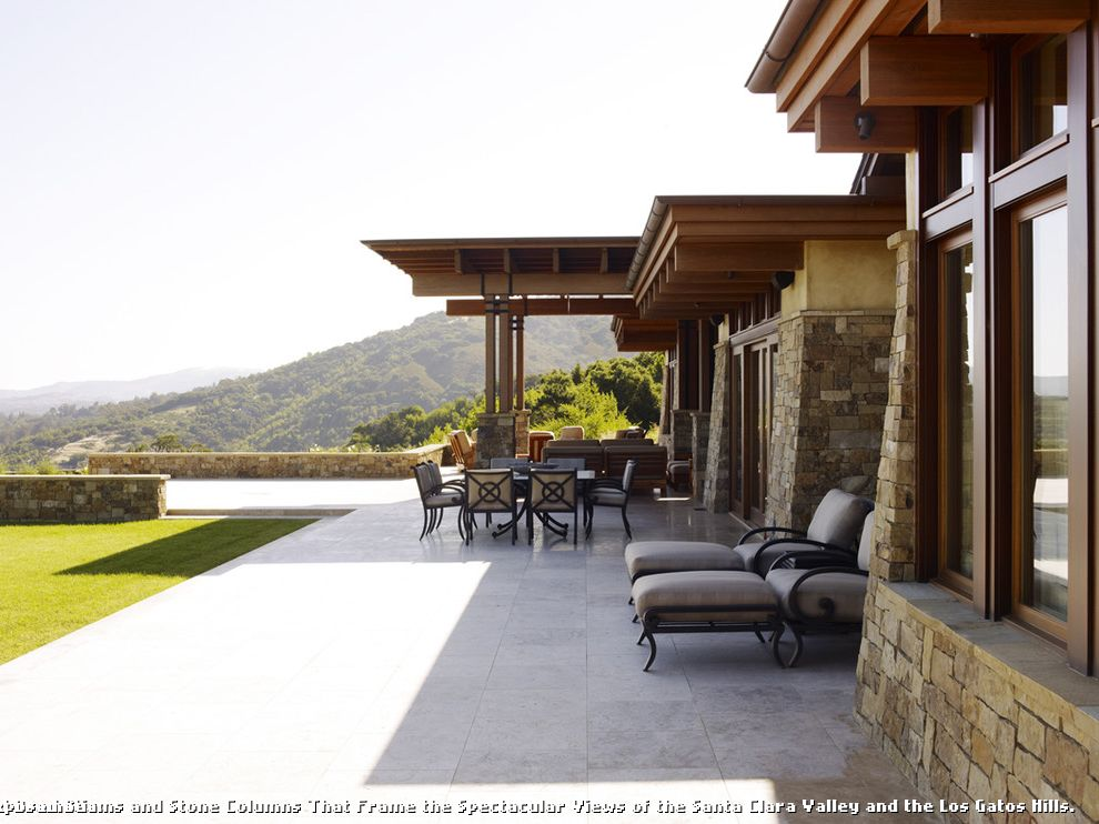 Modern Stone Veneer  for Contemporary Patio and Stone Tiles