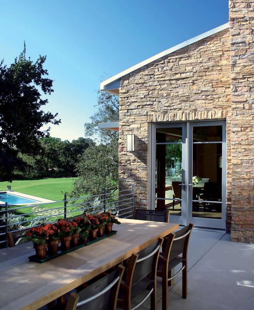 Modern Stone Veneer  for Traditional Exterior and Concrete Pavers