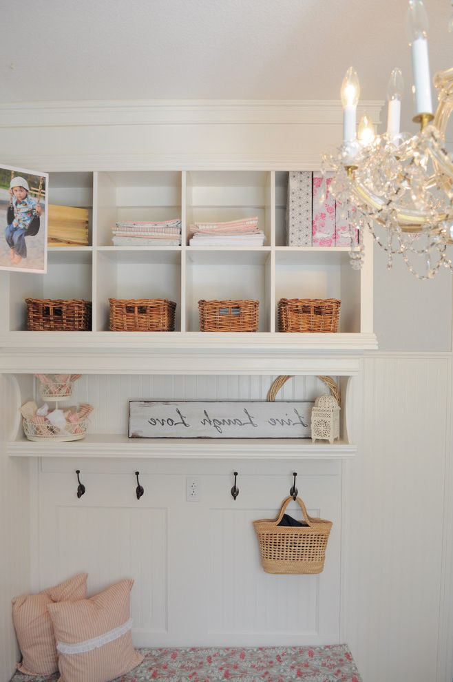 Shabby Chic Bookshelf for Shabby-Chic Style Entry and Shabby Chic Style