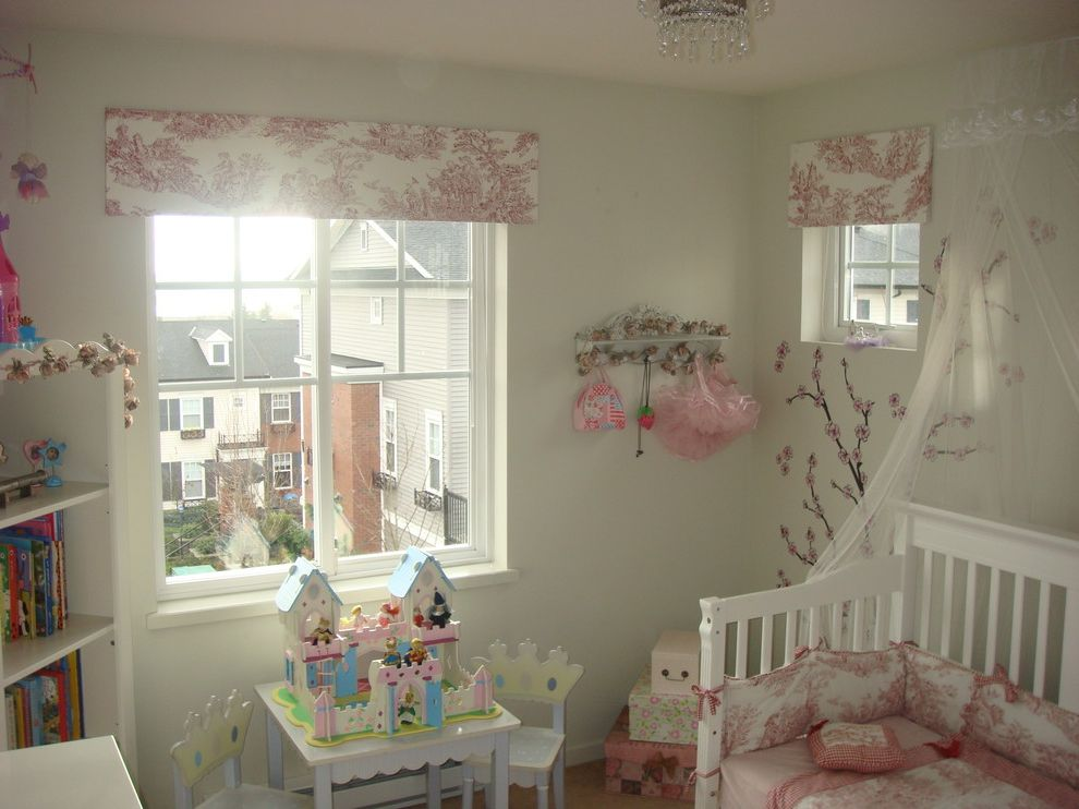 Valences for Eclectic Kids and Twin Bed