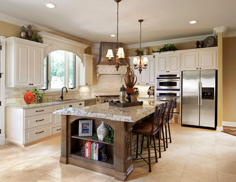 Valences for Traditional Kitchen and Custom Cabinets