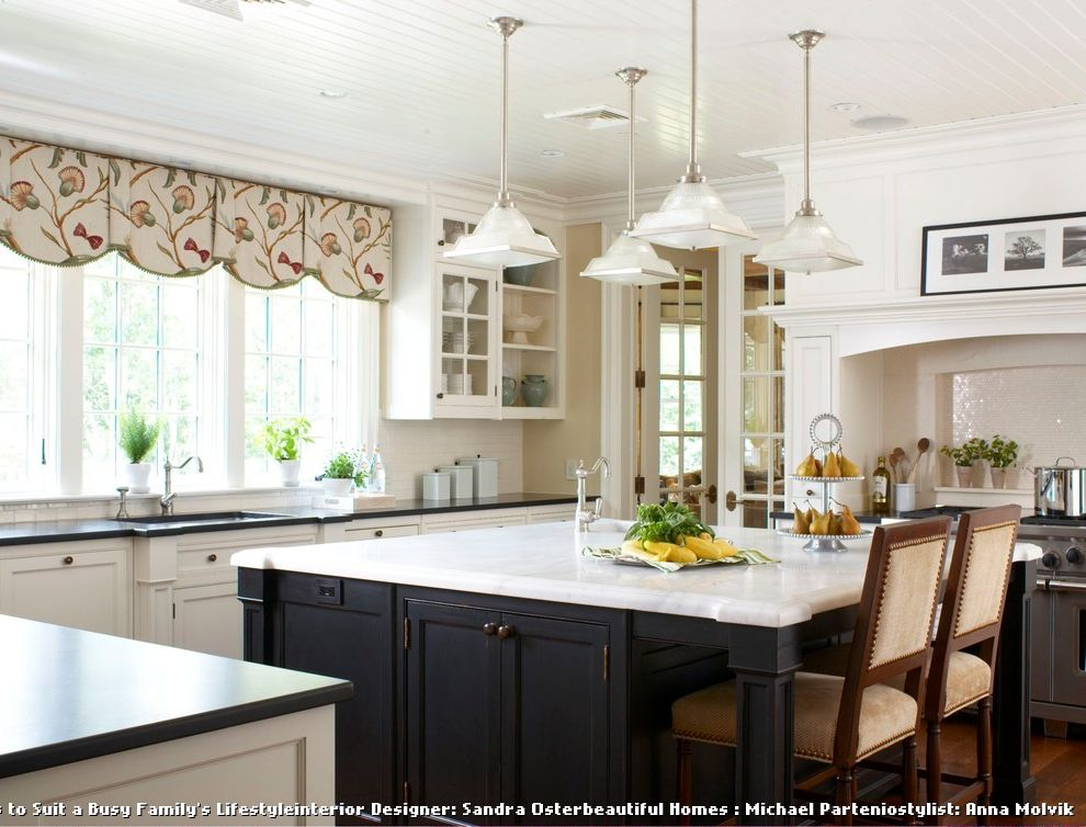 Valences for Traditional Kitchen and Screened Porch