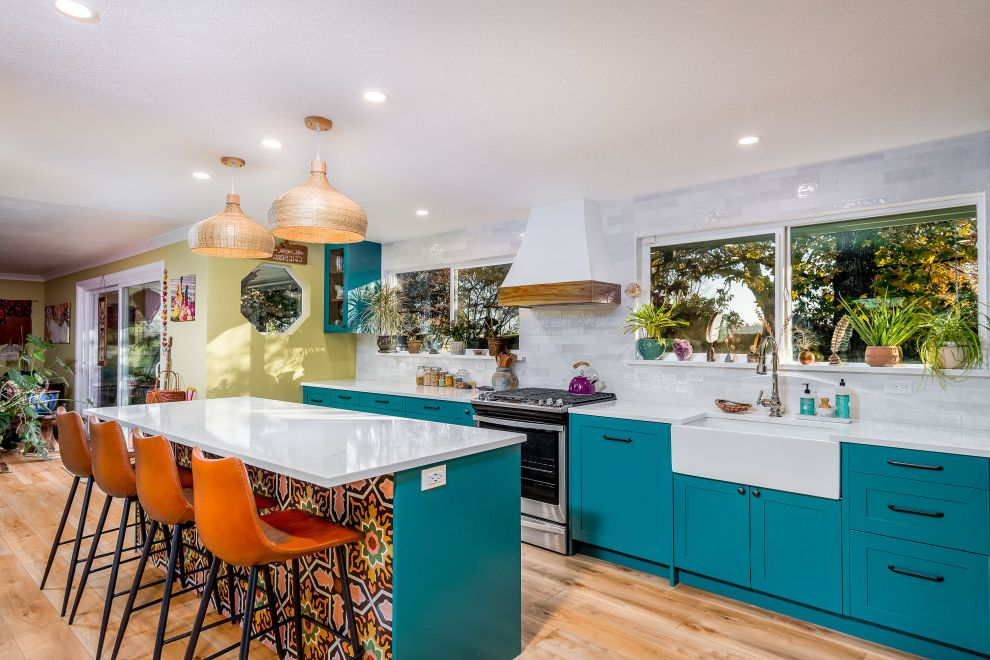 1900 Taylor St. What is a Galley Kitchen for Tropical Kitchen Kitchen Photos Tropical Kitchens