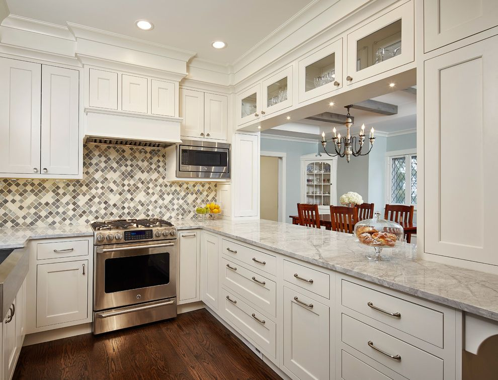 925 Linden How to Clean Stainless Steel Appliances for Traditional Kitchen Kitchen Photos Traditional Kitchens