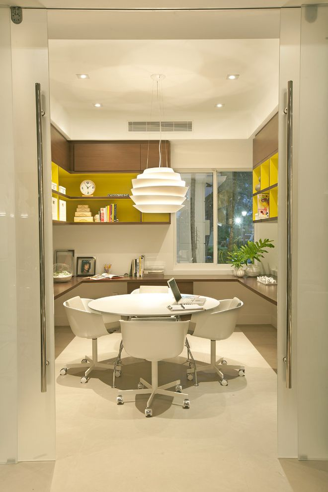 A Modern Miami Home How to Decorate Office at Work for Midcentury Home Office Home Office Photos French Country Home Office Ideas