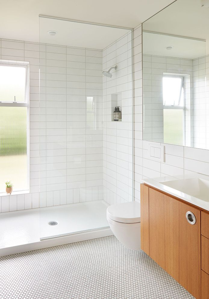 Beacon Hill Mid Century Fiddle Leaf Fig Care for Midcentury Bathroom Bath Photos Tile and Countertop Contractors