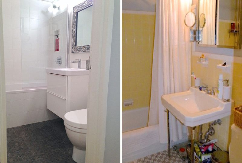 Before/after Bathroom Bathroom Before and After for  View Profile Homes