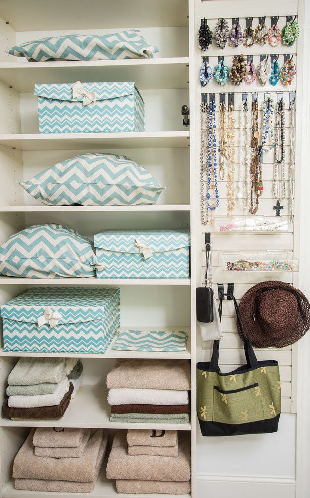 Boutique for Her How to Fold Sheets for Closet Storage & Closet Photos Transitional Products