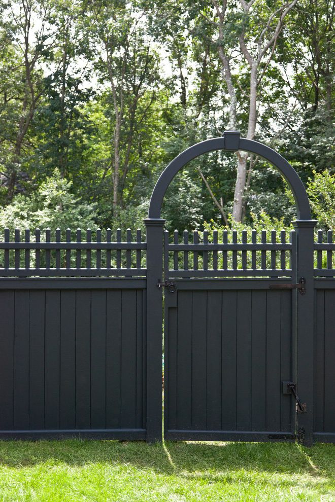 Bristol Road Residence How to Paint a Fence for Traditional Landscape Outdoor Photos P Allen Smith Landscaping Ideas