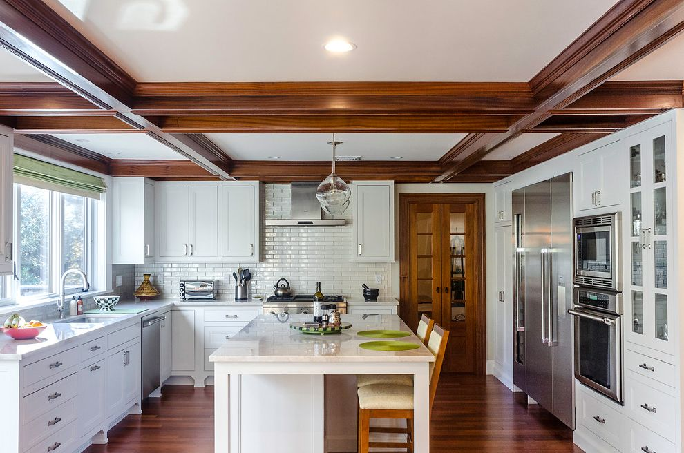 Clean and Contemporary Kitchen How to Clean Stainless Steel Appliances for Transitional Kitchen Kitchen Photos Chic Rustic Kitchen Photos