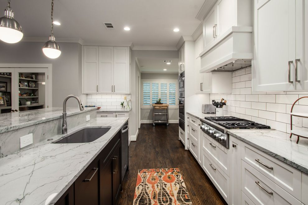 Cliffbrook Contemporary Whole House Conversion Which is Better Granite or Quartz for Transitional Kitchen Kitchen Photos Kitchen and Bathroom Designers