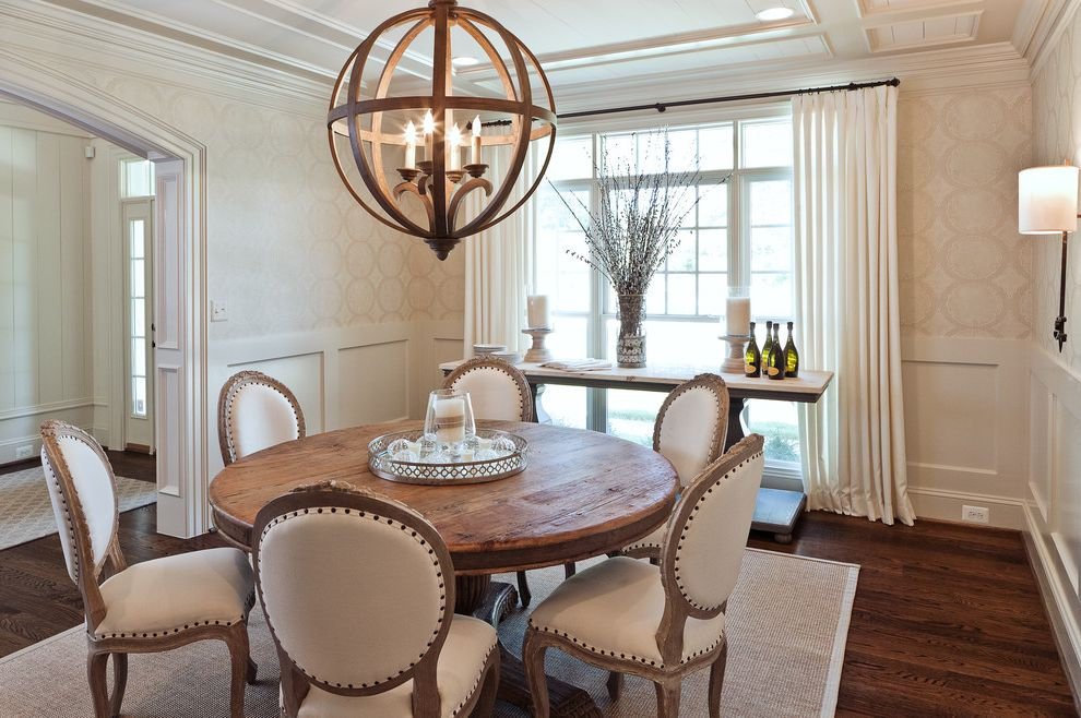 Dream House Studios, Inc. Buy House with Bitcoin for Transitional Dining Room Dining Photos High Ceiling Dining Room Ideas