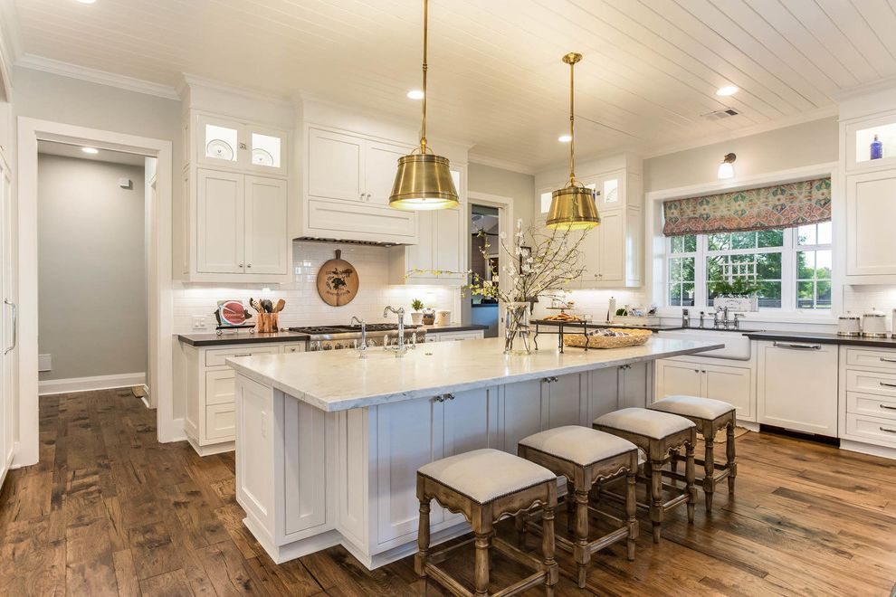 Elegant Farmhouse How to Paint Over Paneling for Farmhouse Kitchen Kitchen Photos Beige Kitchens