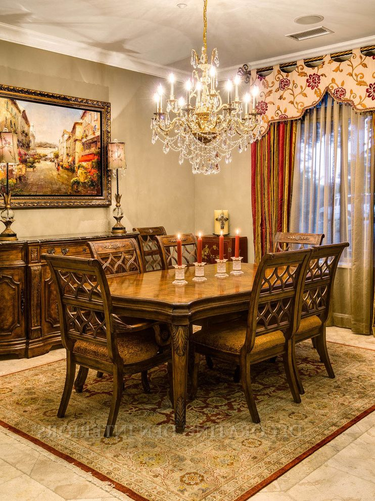 Full House Remodel | European Elegance House Hunters Full Episodes for Mediterranean Dining Room Dining Photos Home Stagers