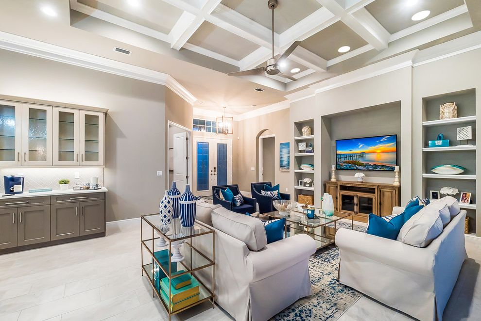 Ganton Model Home Joanna Gaines Living Room Ideas for Transitional Living Room Living Photos Fireplace Services and Installers