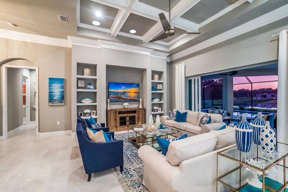GANTON MODEL HOME Joanna Gaines Paint Colors for Transitional Living Room Living Photos Fireplace Services and Installers