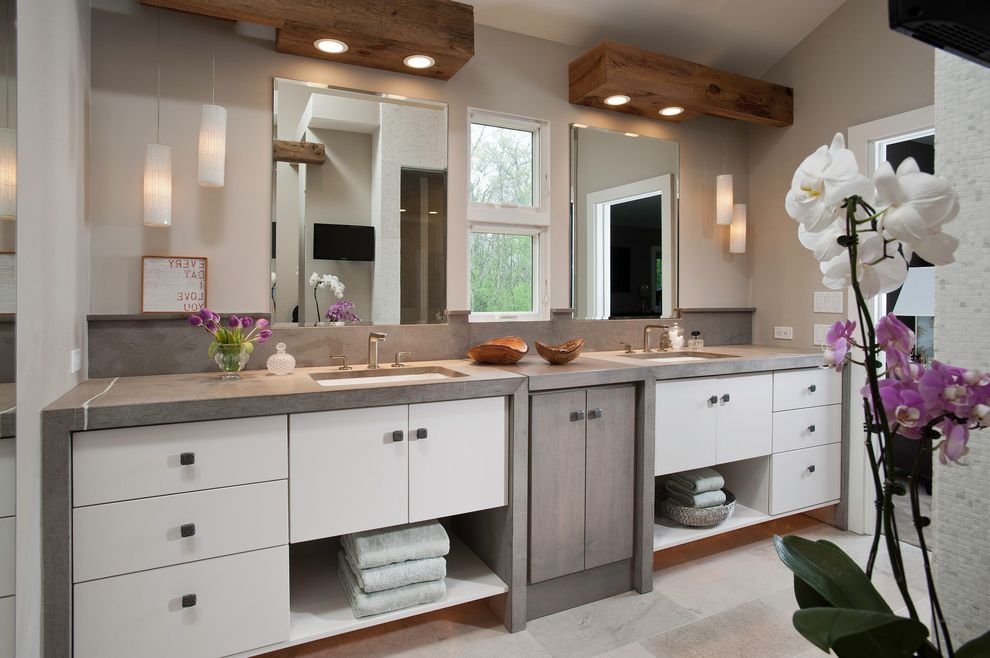 Gleaming Master Bathroom How to Repaint Cabinets for Contemporary Bathroom Bath Photos Kitchen and Bathroom Fixtures