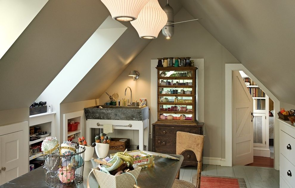 Great Use for the Upper Floor of a Garage Watch Fixer Upper Online Free for Traditional Home Office Home Office Photos Craft Storage Ideas