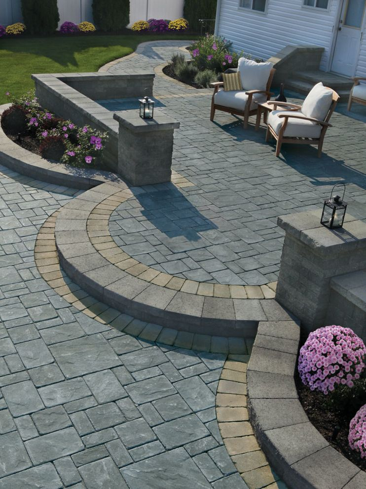 Hardscape Projects How to Add Value to Your Home for Traditional Patio   Photo by Affordable Hardscapes of Virginia Outdoor Photos 4x4 Patio Ideas