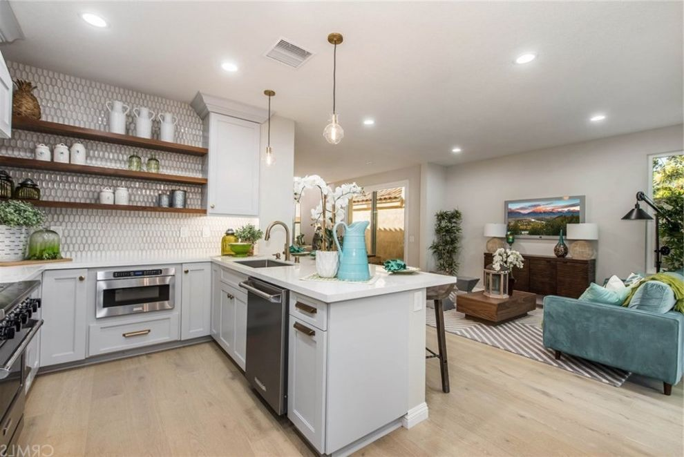 HGTV Flip or Flop Project | Contemporary Coastal in Newport Beach Flip or Flop Chicago for Beach Style Kitchen Kitchen Photos Kitchen and Bathroom Designers