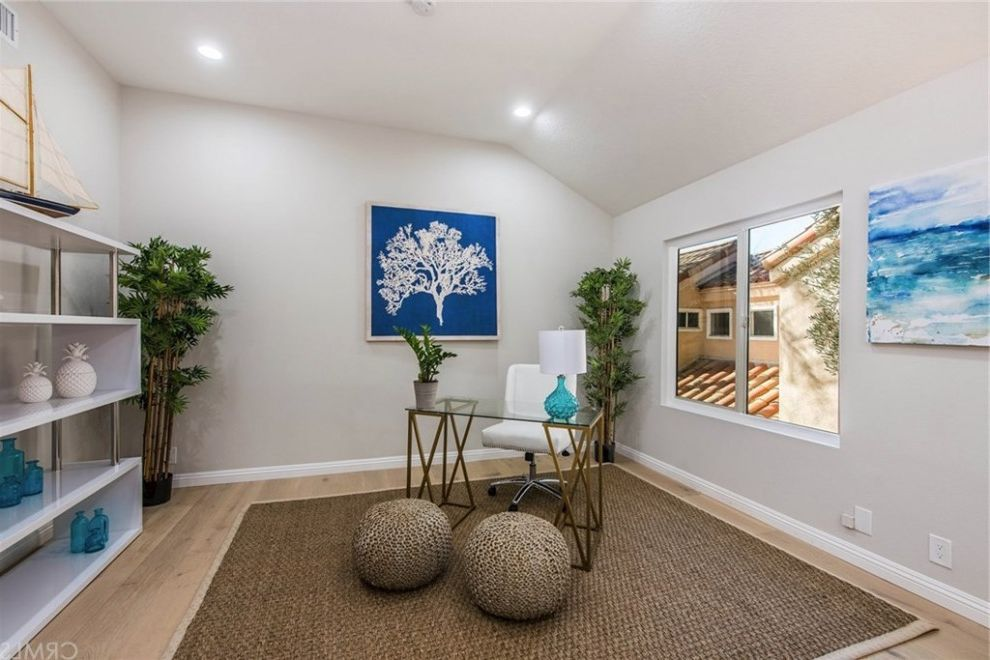 Hgtv Flip or Flop Project   Contemporary Coastal in Newport Beach Hgtv Flip or Flop Atlanta for Beach Style Home Office Home Office Photos Glass Wall Home Office Ideas