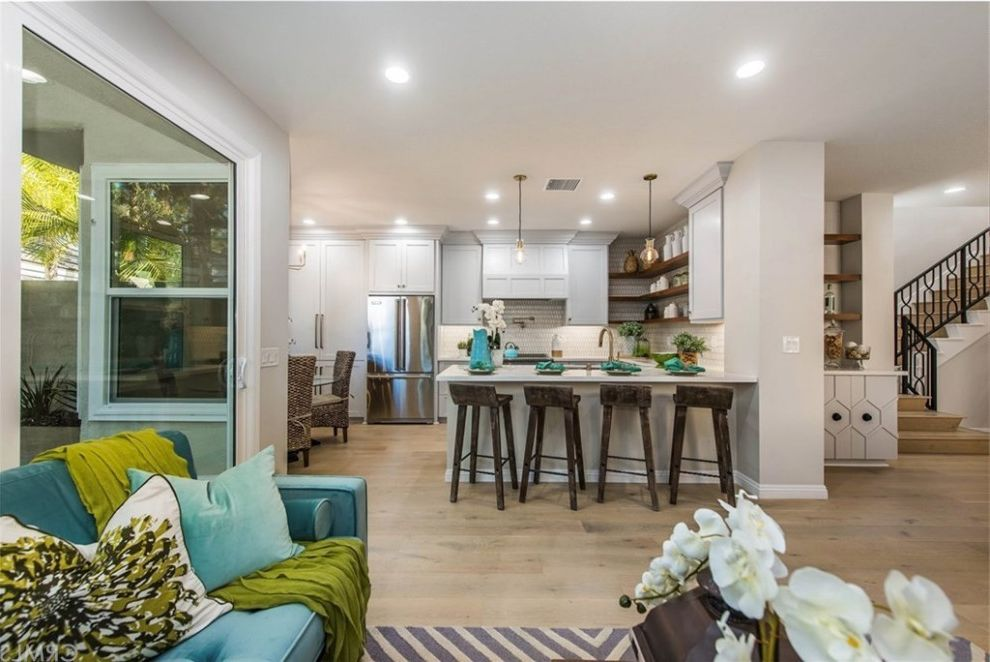 HGTV Flip or Flop Project   Contemporary Coastal in Newport Beach Hgtv Flip or Flop Atlanta for Beach Style Kitchen Kitchen Photos Stone Cleaners
