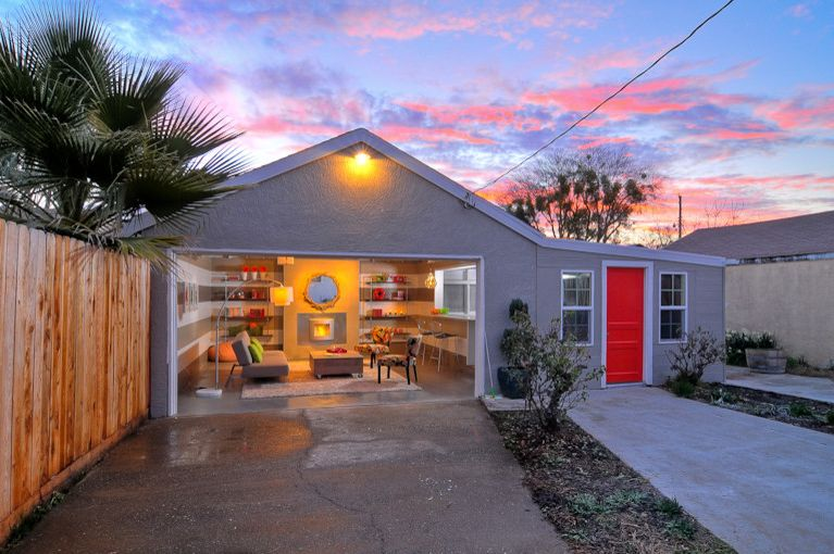 Hgtv Garage Turned Lounge Http Hgtv Com Roku for Modern View Profile French Provencal Architecture Ideas