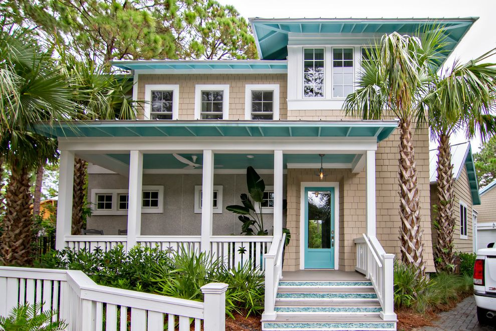 Hgtv Smart Home 2013 How to Paint a House for Beach Style Exterior Exterior Photos Landscapers