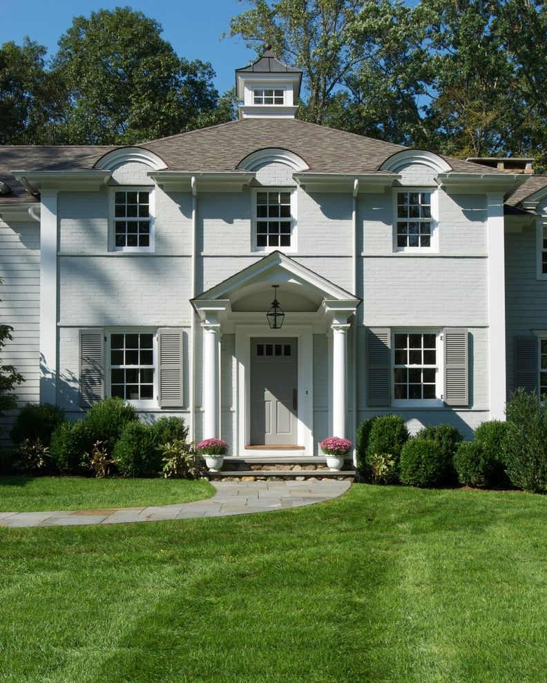 Huestis Tucker Architects, Llc Best Exterior Paint Colors for Traditional Exterior Exterior Photos Gardeners and Lawn Care Services