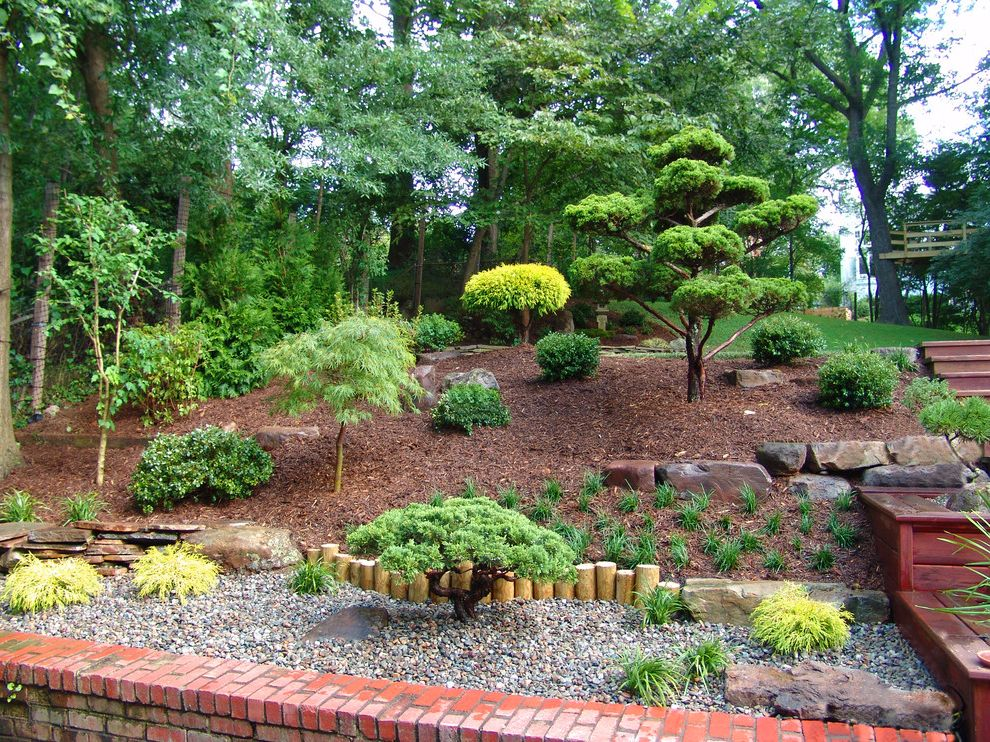 Japanese Garden Design and Installation What is a French Drain for Asian Landscape Outdoor Photos Landscapes