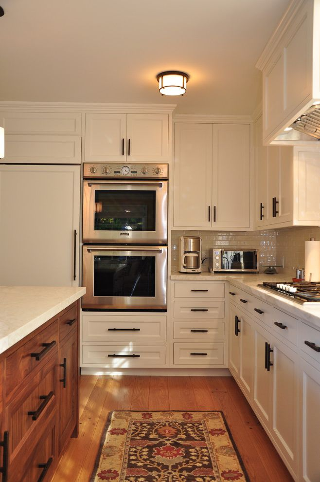 Kitchen Has Double Ovens How to Clean Stainless Steel Refrigerator for Contemporary Kitchen Kitchen Photos Plumbers
