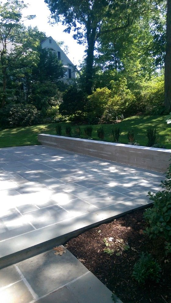 Larchmont, Ny  Floating Deck How to Lay Pavers for Contemporary Patio Outdoor Photos Driveway and Paving Contractors