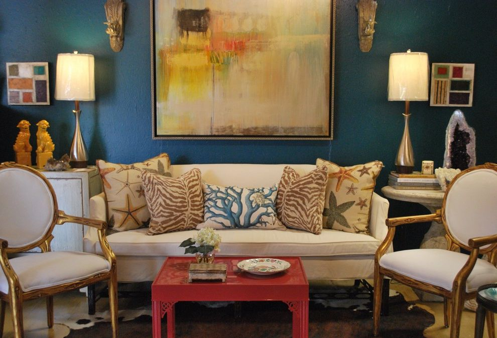 Mad for Galapagos Turquoise Colors to Paint Your Room for Eclectic Living Room Living Photos 3 Windows Living Room Ideas