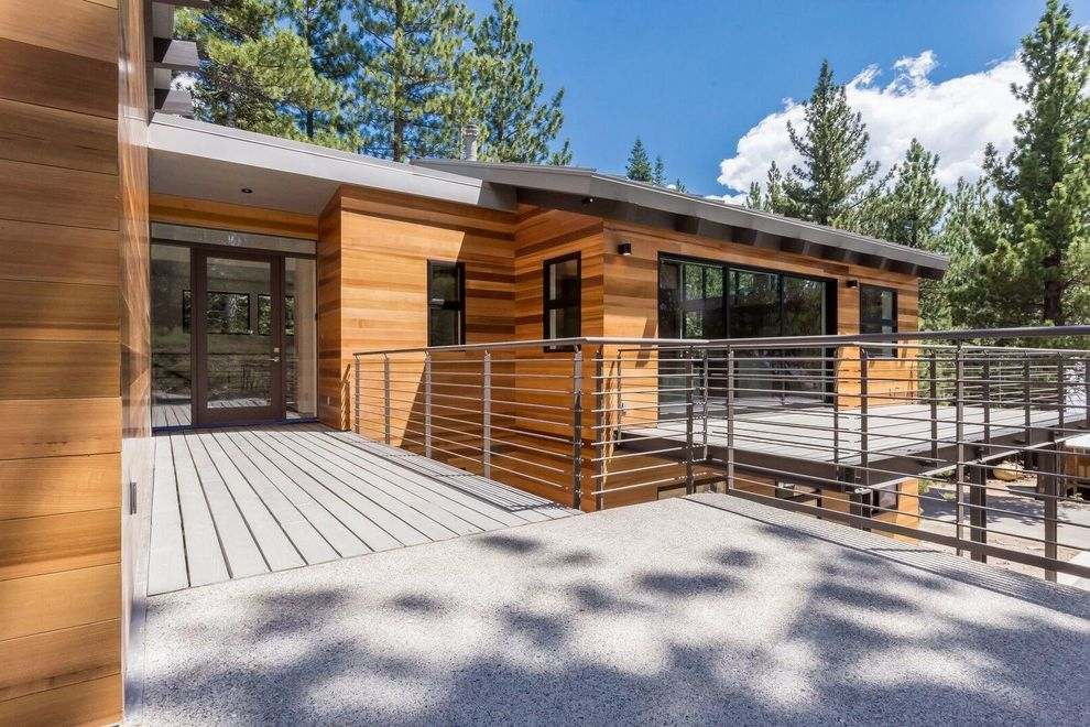 Mammoth Modern How to Stain a Deck for Modern Exterior Exterior Photos Huge Exteriors