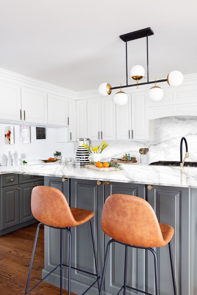 Margaret Dziadosz's Colonial Home Livingston Nj(before/after) Kitchen Before and After for Transitional Kitchen Kitchen Photos Stone Cleaners
