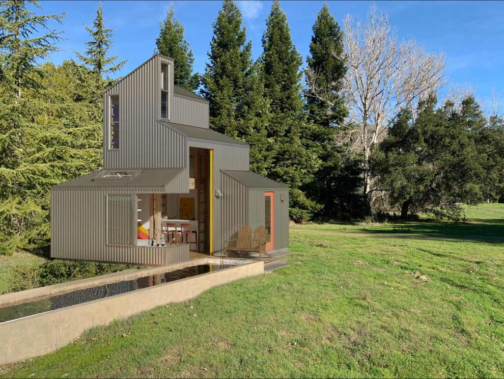 Marin County Tiny House & ADU Tiny House Hunters Episodes for Shabby-Chic Style Exterior Exterior Photos Door Contractors and Installers
