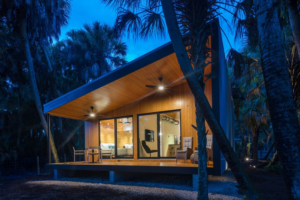 Mike's Hammock Tiny House Hunters Episodes for Contemporary Exterior Exterior Photos Landscapers