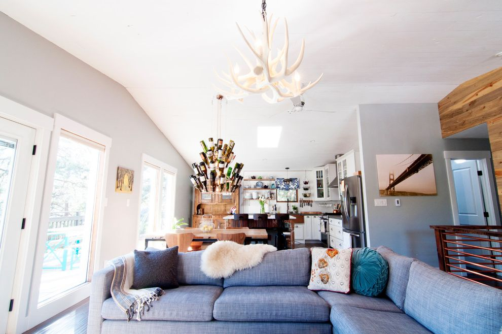 My Houzz: Colorado Fixer-Upper is Reclaimed and Renovated Fixer Upper Living Room Ideas for Farmhouse Living Room Living Photos Chimney Sweeps and Cleaners