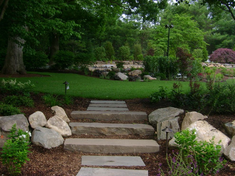 Nissequogue, NY How to Design Landscape for Traditional Landscape Outdoor Photos Colorado Mountain Home Landscaping Ideas