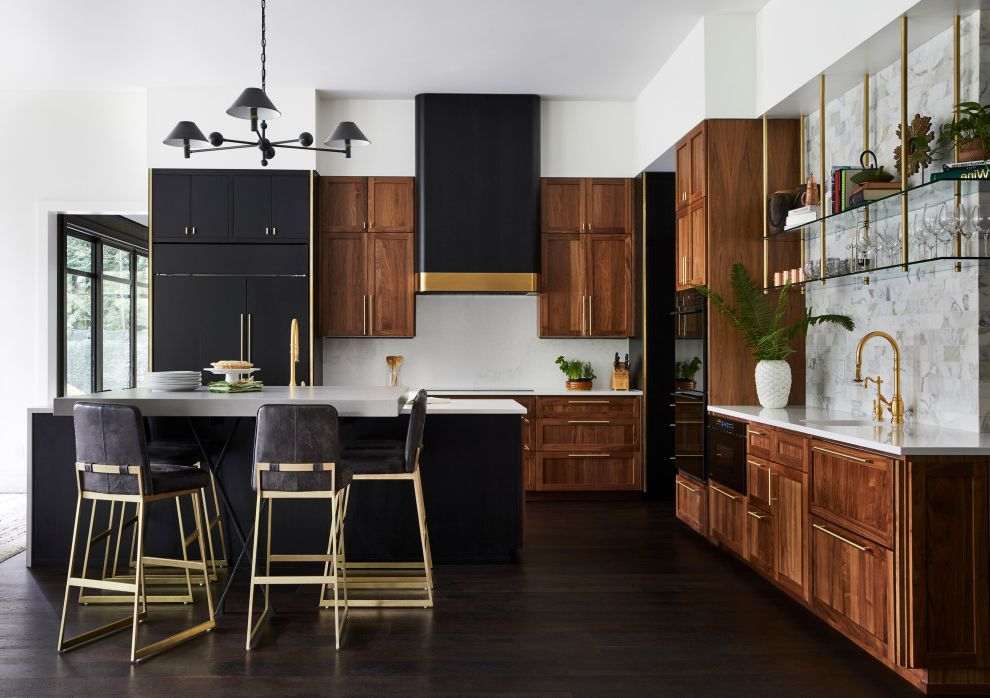 Not Your Average Lakehouse Love Your Home Sweepstakes for Contemporary Kitchen Kitchen Photos Mdf Contemporary Kitchen Photos
