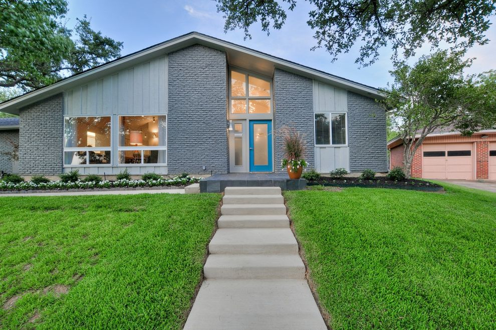Pbh Keith Heights How to Paint a House for Midcentury Exterior Exterior Photos Green Exteriors