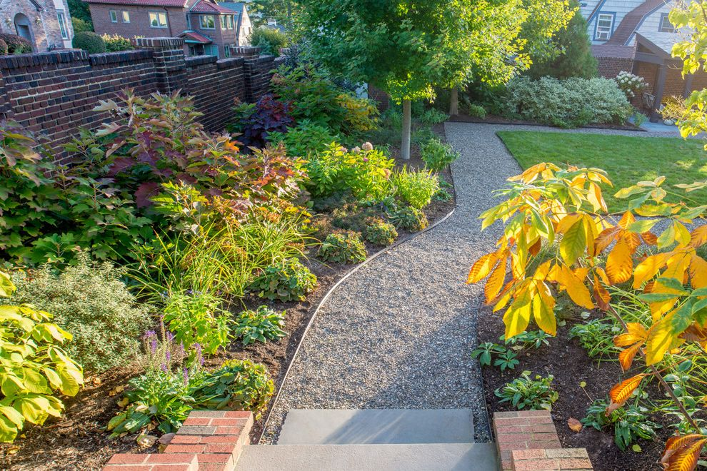 Period Perfect. Historic Landmark Garden Renovation Watch Fixer Upper Online for Traditional Landscape Outdoor Photos Roundabout Landscaping Ideas