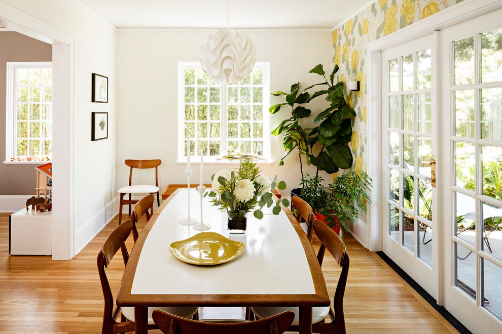 Portland Modern Tudor Dining Room How to Fold Sheets for Contemporary Dining Room Dining Photos Contemporary Dining Rooms