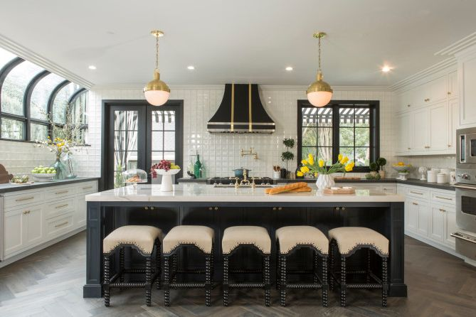 Property Brothers at Home: Drew's Honeymoon House Apply for Property Brothers for Transitional Kitchen Kitchen Photos Kitchen and Bathroom Fixtures