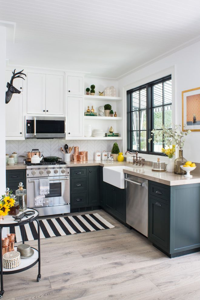 Property Brothers at Home: Drew's Honeymoon House Property Brothers New Orleans for Transitional Kitchen Kitchen Photos Transitional Kitchens