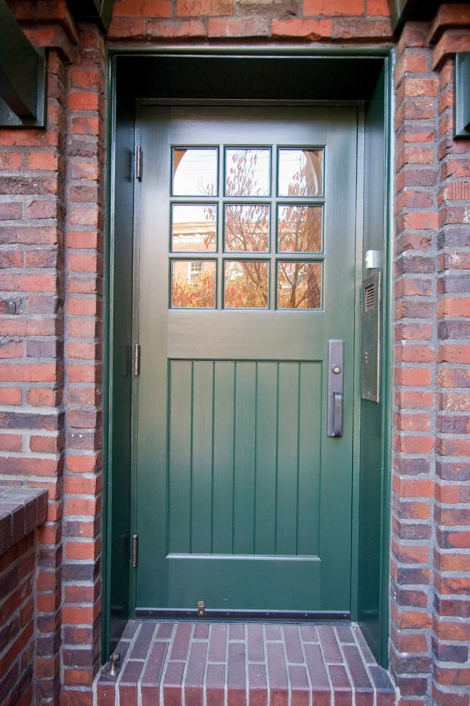 Residential Exteriors How to Paint a Front Door for Traditional Entry Entry Photos Flat Door Entry Ideas
