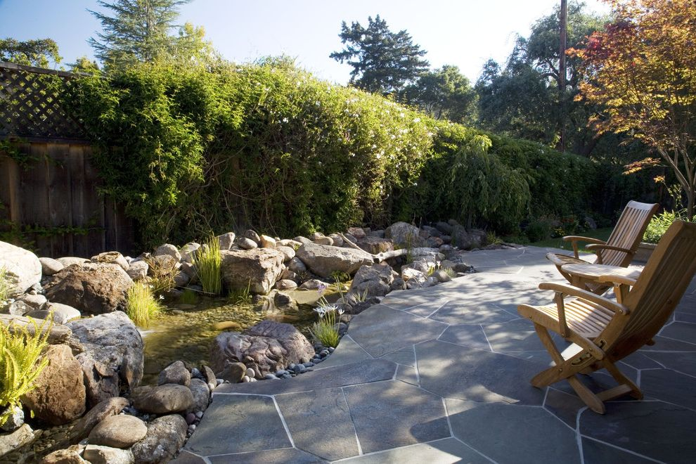 Saratoga Jewelbox Custom Home How to Lay Pavers for Traditional Landscape Outdoor Photos Black Landscapes